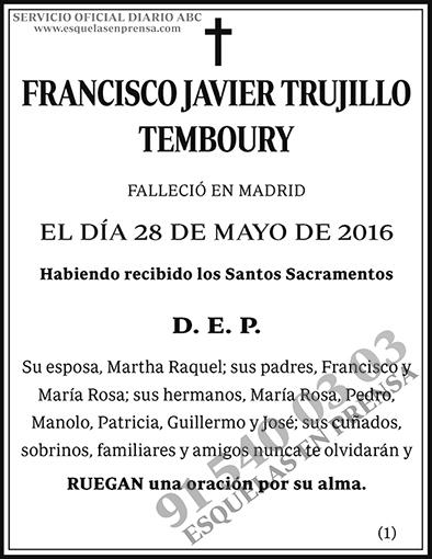 Francisco Javier Trujillo Temboury